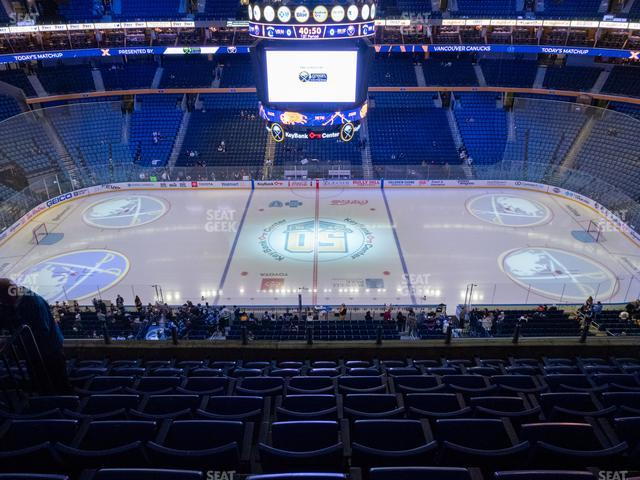 KeyBank Center Section 306 view