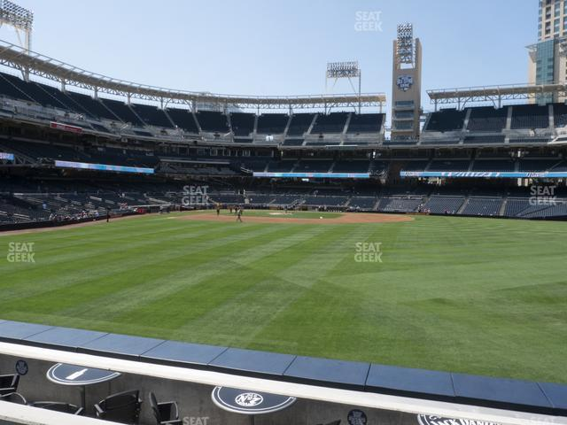 Petco Park Section 135 view