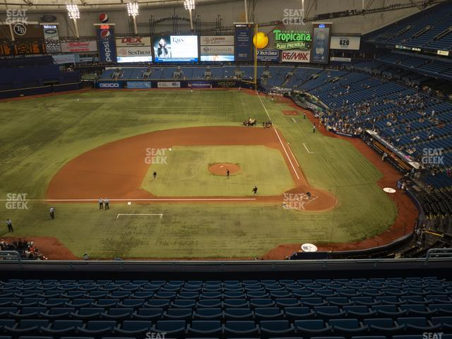 Tropicana Field Section 309 view