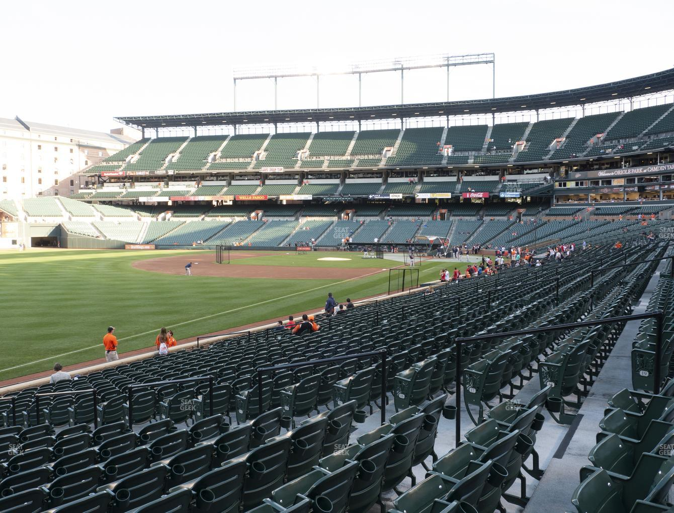 Baltimore Orioles at Oriole Park at Camden Yards Section 68 View