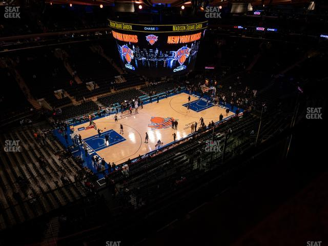 Madison Square Garden Section 311 view