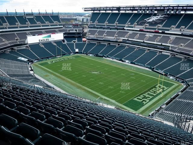 Lincoln Financial Field Section 231 view