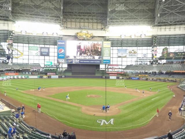 Miller Park Section 219 view