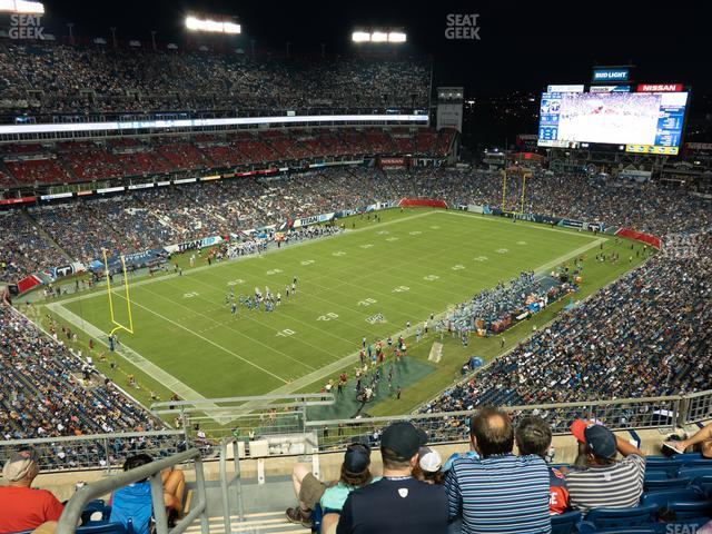 Nissan Stadium Section 342 view