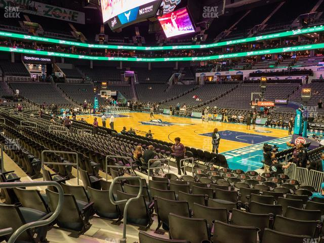 Spectrum Center Section 112 view