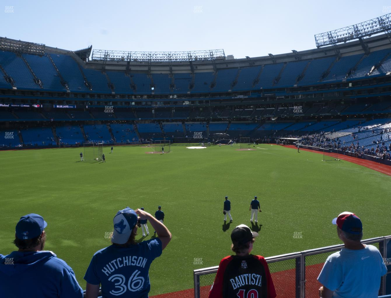 Toronto Blue Jays at Rogers Centre Section 137 L View