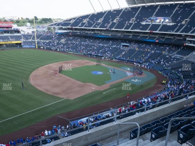 Kauffman Stadium Section 406 view