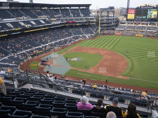 PNC Park Section 309 view