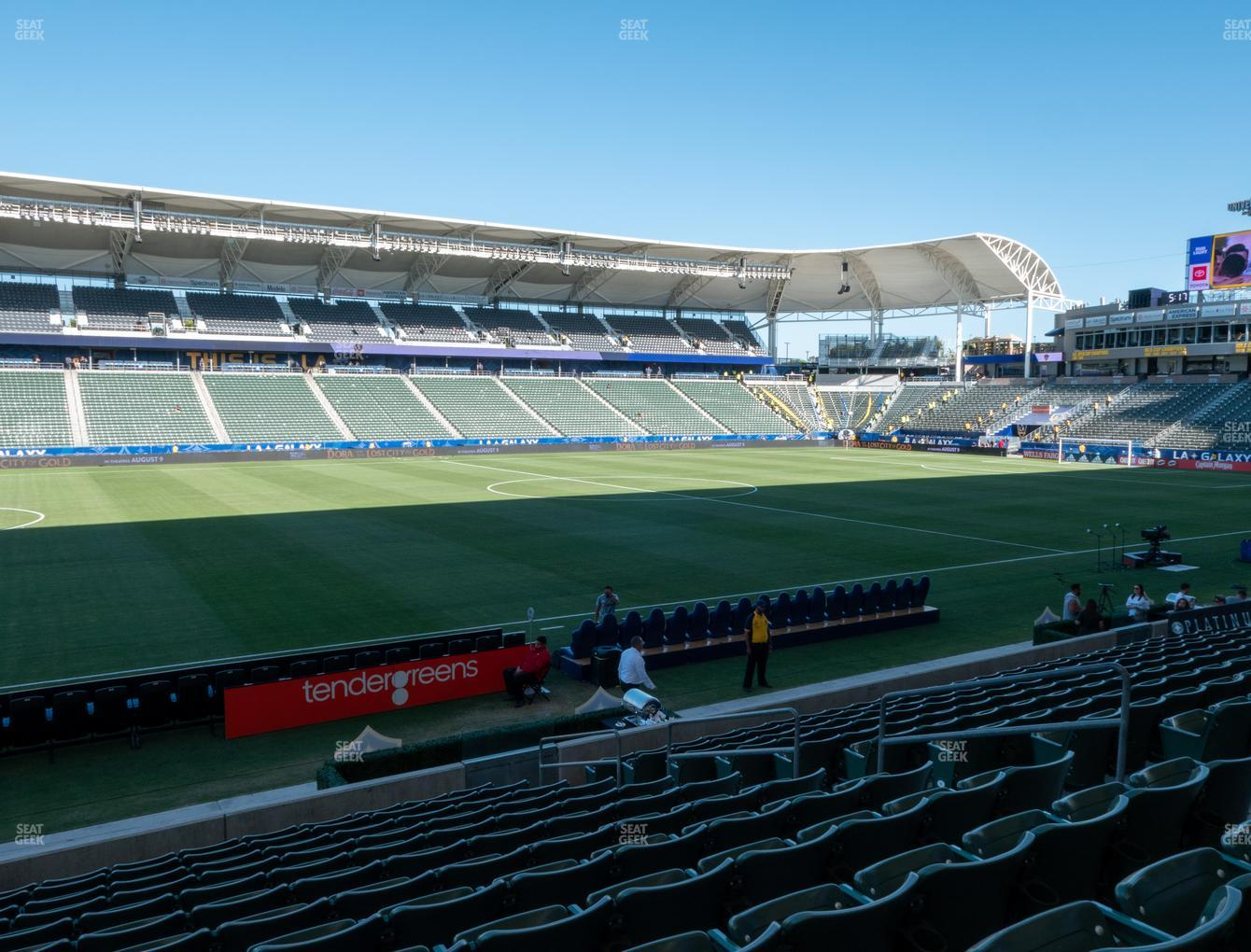 Dignity Health Sports Park Section 114 Seat Views | SeatGeek