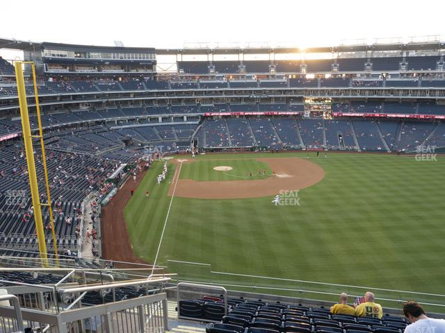 Nationals Park Section 236 view