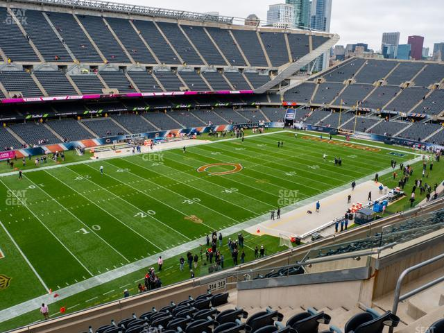 Soldier Field Section 314 view