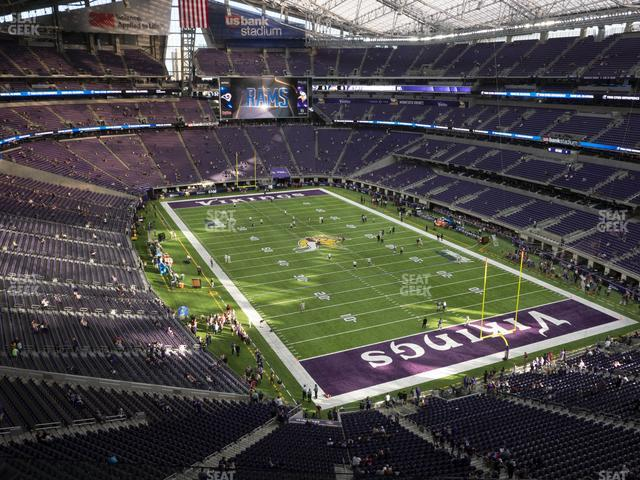 U.S. Bank Stadium Section 302 view
