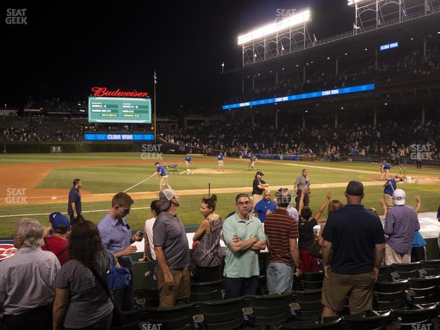 Wrigley Field Club Box Infield 12 view