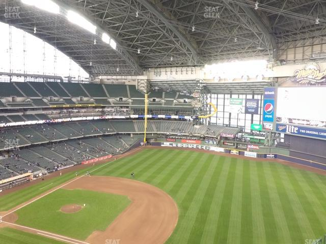 Miller Park Section 412 view
