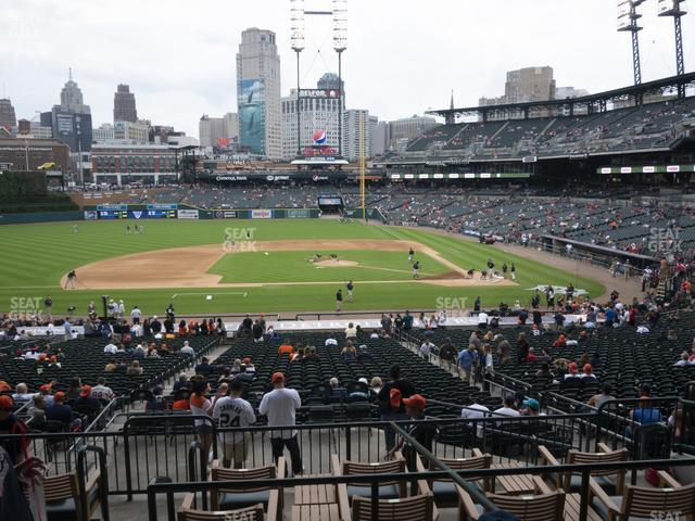 Comerica Park Section 133 view