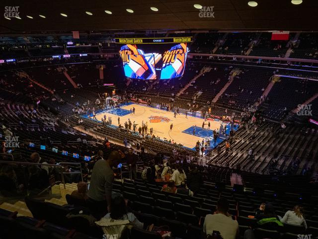 Madison Square Garden Section 227 view