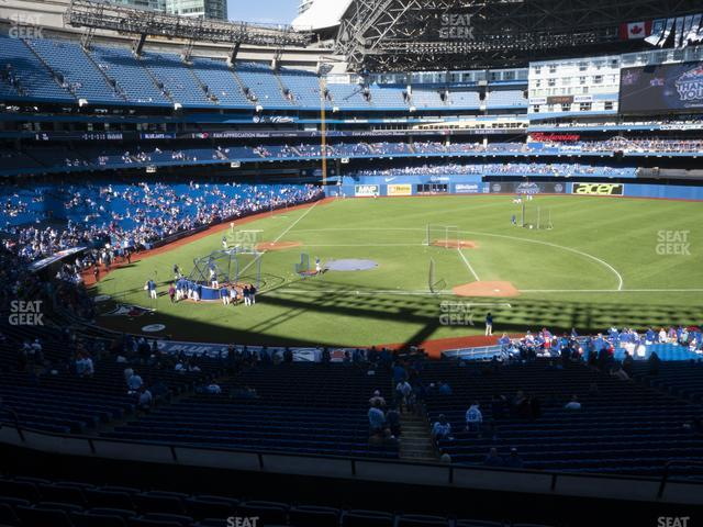 Rogers Centre Section 219 R view