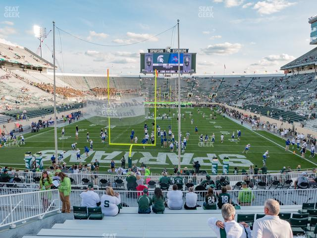 Spartan Stadium Section 1 view
