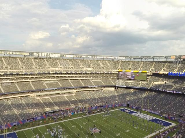MetLife Stadium Section 343 view