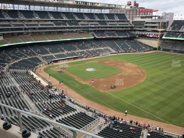 Target Field Section 204 view