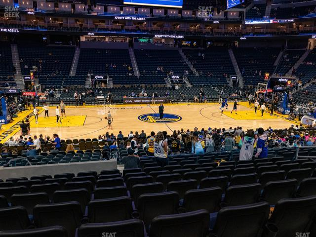 Chase Center Section 115 view