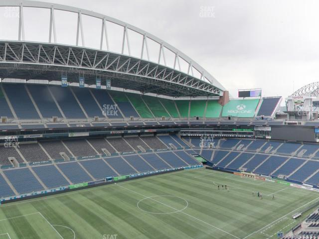 CenturyLink Field Upper 340 view