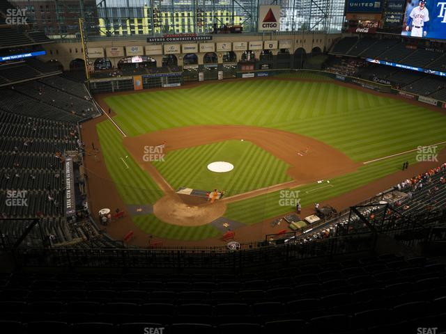 Minute Maid Park Section 421 view