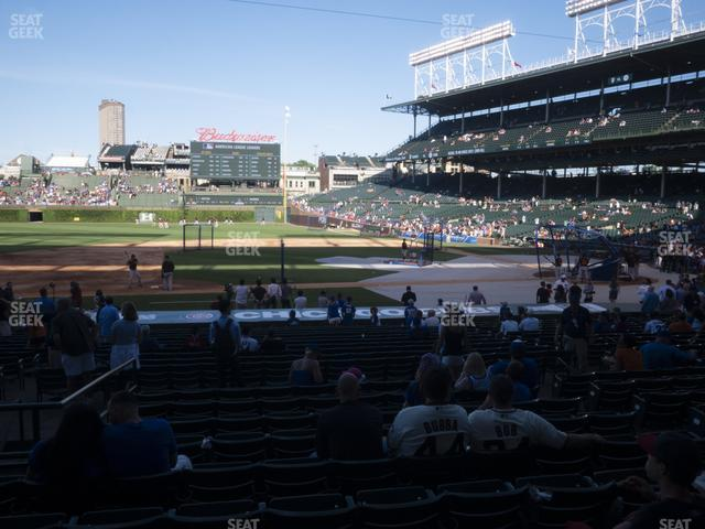 Wrigley Field Section 112 view