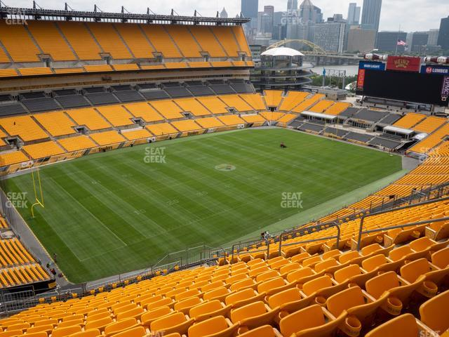 Heinz Field Section 529 view