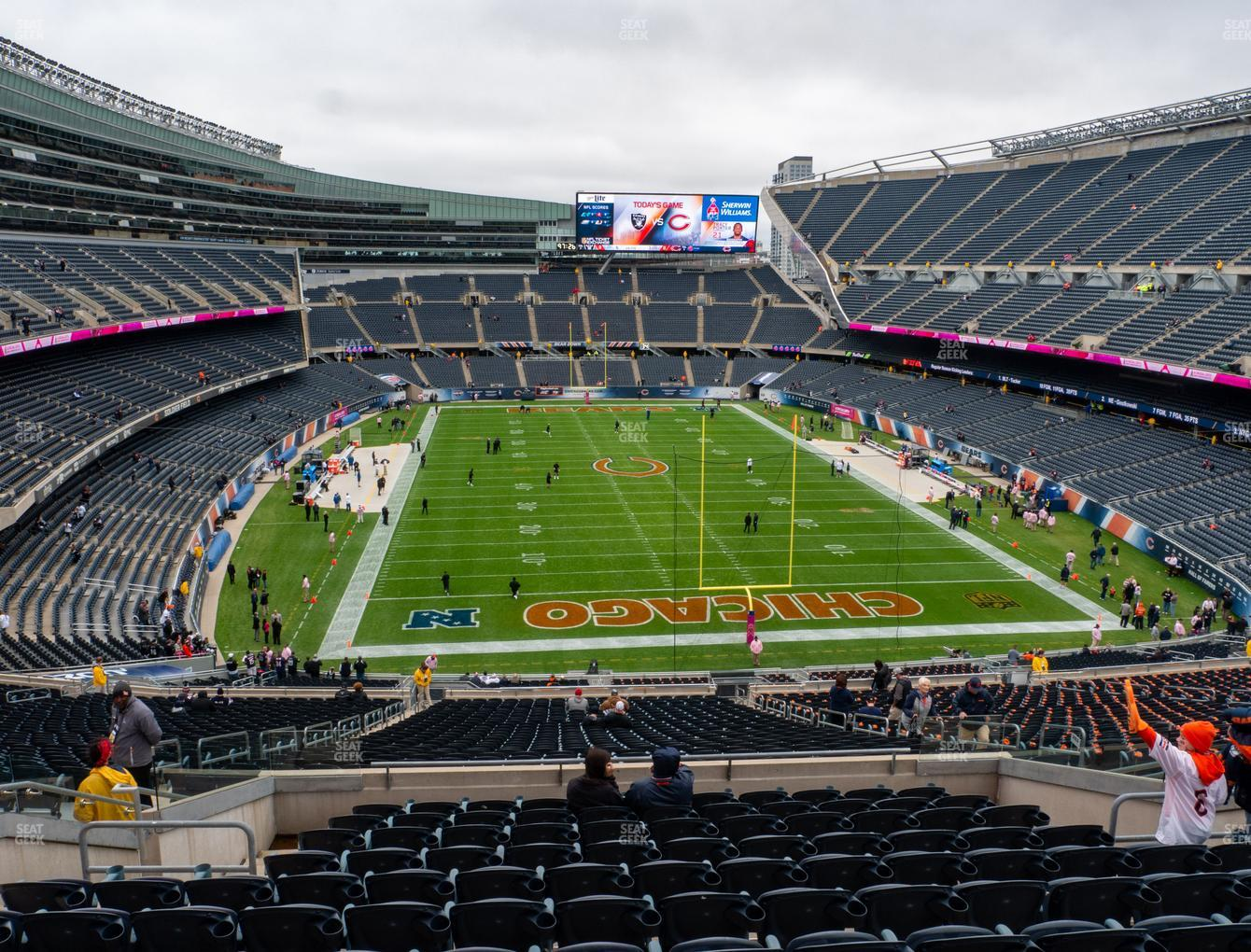 Chicago Bears at Soldier Field Section 353 View