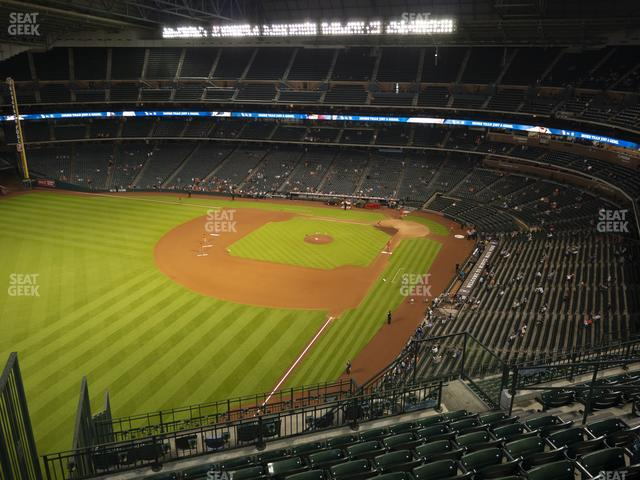 Minute Maid Park Section 405 view