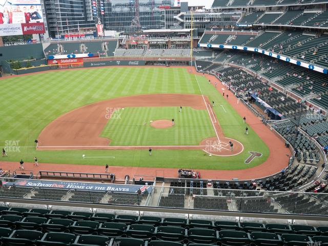 SunTrust Park Section 330 view