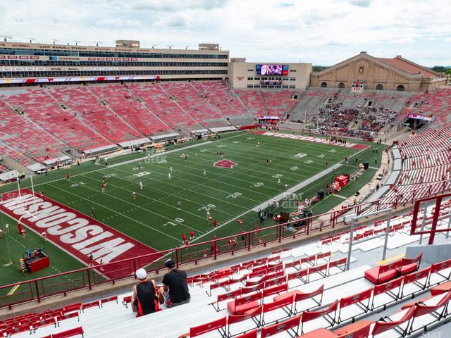 Camp Randall Stadium Section KK view