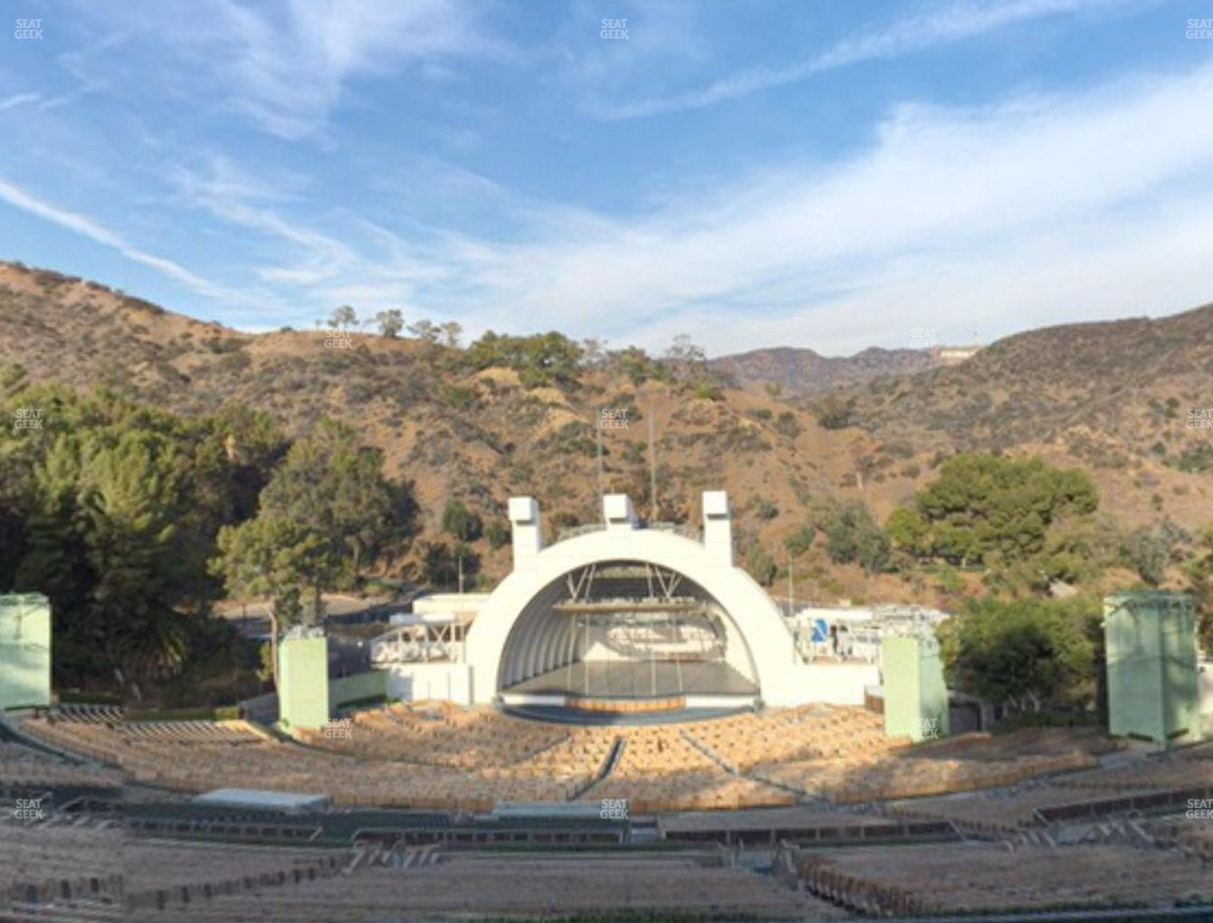 Concert at Hollywood Bowl Section R 1 View
