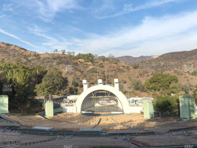 Hollywood Bowl Section R 1 view