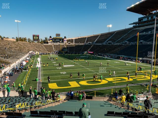 Autzen Stadium Section 3 view