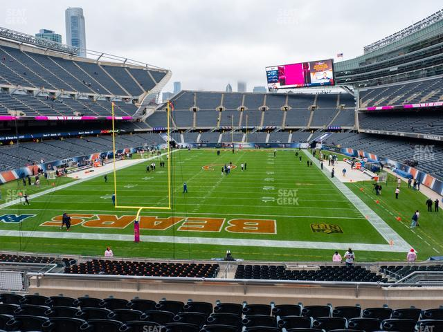 Soldier Field Section 221 view