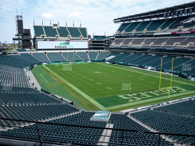 Lincoln Financial Field Section M 7 view