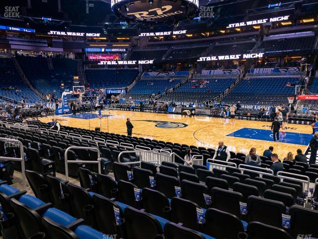 Amway Center Section 113 view