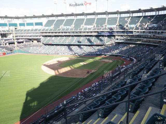 Progressive Field Section 477 view