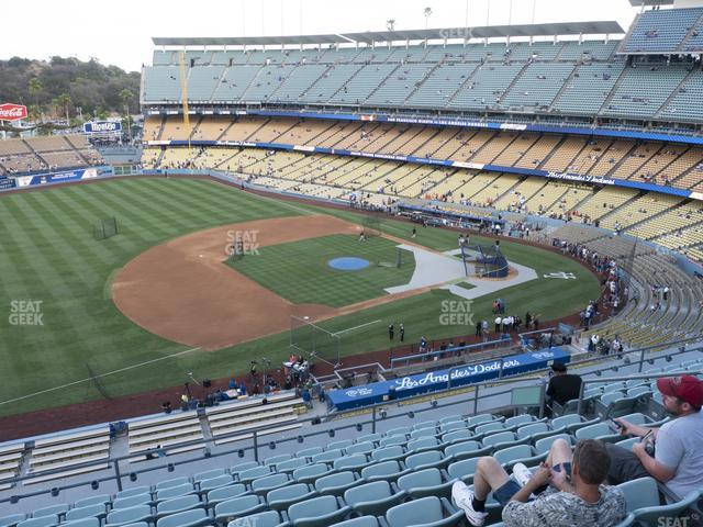 Dodger Stadium Reserve 31 view