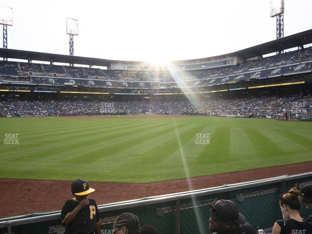PNC Park Section 137 view