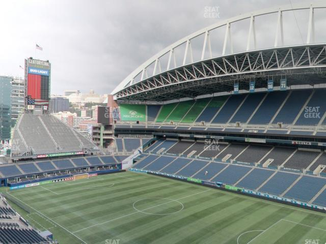 CenturyLink Field Upper 329 view