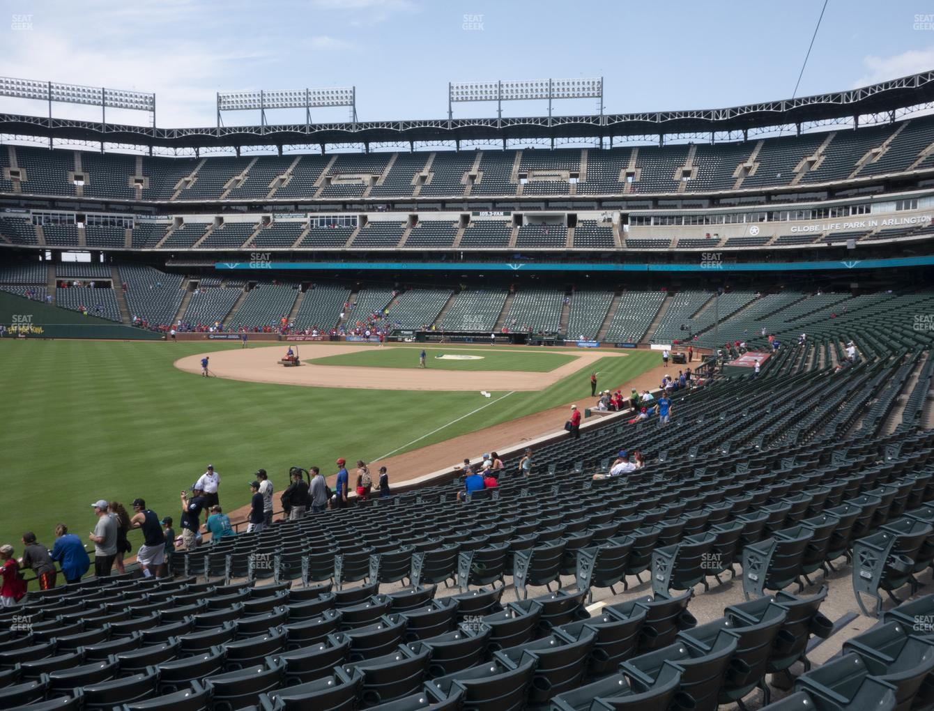 Concert at Globe Life Park Section 11 View