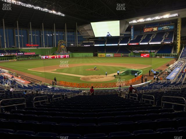 Marlins Park Section 15 view
