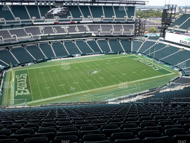 Lincoln Financial Field Section 222 view