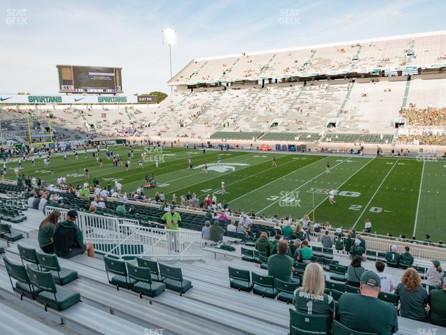 Spartan Stadium Section 22 view