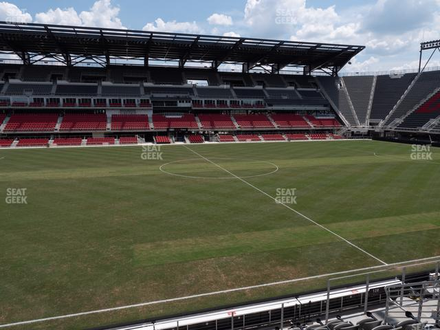 Audi Field Section 128 view