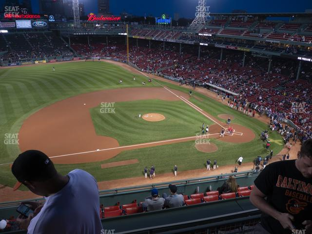 Fenway Park Pavilion Box 8 view