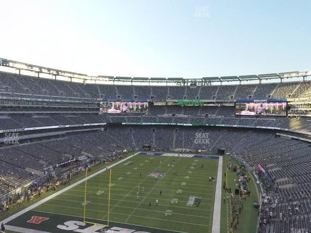 MetLife Stadium Section 224 B view